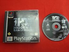 Sony Playstation Ps1 Game Hidden & Dangerous Incl . Original Package Very Good