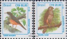 Brasilien 2569,2571 (kompl.Ausg.) postfrisch 1994 Vögel
