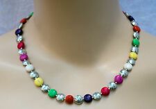 Halsketten und Anhänger im Collier-Stil mit echten Edelsteinen Schönheits