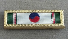 Republic Of Korea Presidential Unit Citation Framed / Small Frame USAF,USN, USMC