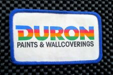 "DURON PAINT PRINTED SEW ON PATCH WALL COVERINGS SHERWIN WILLIAMS 4"" x 2 1/2"""