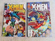 95 X-Men Chronicles #s 1&2 (The Dawn of Apocalypse) NM+ 9.6