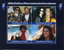 Chad 2018 MNH Michael Jackson Janet 4v M/S Music Celebrities Stamps