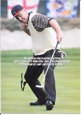 HAL SUTTON 1983 PGA CHAMPIONSHIP WINNER RARE SIGNED  STRATA POSTER