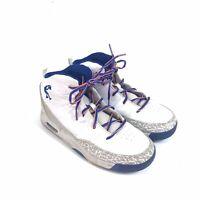 Shaq Boys Size 6 White High Top Basketball Tennis Shoes   AA-07