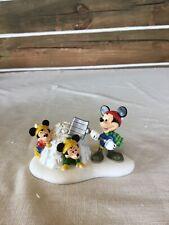 Department 56 Disney Village Mickey Snow Fort Fun 4032207