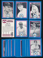 1976 Shakey's Pizza -SERIES 1 Set (44 cards) -COBB, GEHRIG, KOUFAX, JACKIE, TED