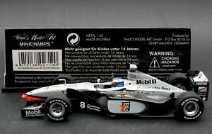 1:43 Minichamps 1998 McLaren Mercedes MP4/13 F1 car Mika Hakkinen World Champion