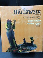 Department 56 Halloween Village. Black Widow Strikes Again, 4051014. New in Box