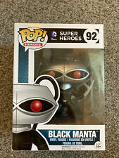Funko Pop Black Manta Super Heroes #92 New In Box, Aquaman