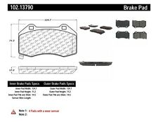 Disc Brake Pad Set-Rear Disc Front Centric 102.13790