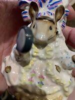 "Beatrix Potter ""Lady Mouse""  c1951 Figurine, Beswick England"