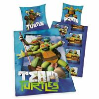 Bettwäsche Team Turtles 135 x 200 cm 80x 80cm
