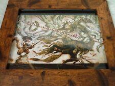 Framed Original Print Jim henson Labyrinth loot crate DX #17 creatures bowie