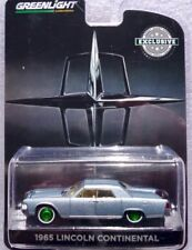 "1965 LINCOLN CONTINENTAL Bleu Clair Met./Greenlight ""GREEN MACHINE"" 1:43"