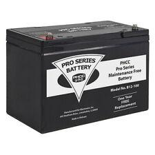 Phcc Pro Series B12 100 Sump Pump Battery12v Dc100 Ah