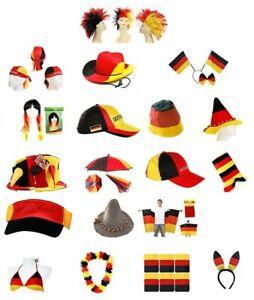 Diverse Fanartikel Deutschland Fußball WM EM Kleidung Hüte Mützen Accessoires