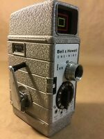 Vintage 1950'S Bell & Howell One Nine 8mm Movie Camera Tri Lens and Sunometer