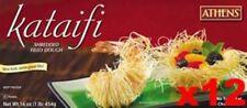 Shredded Fillo (Phyllo) Dough Kataifi, CASE (12 x 1 lb)