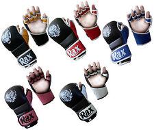 MMA UFC Grappling Gloves Boxing Punch Bag Kick Muay Thai Pad Training Mitt R A X