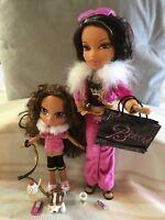 Bratz World Familiez - 2 Doll Set - Yasmin (kidz) + Portia (Mum) HTF