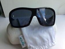 Gafas de sol Oakley BNWT reprender-Negro Pulido W Lente Gris