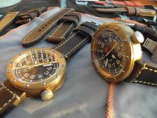 watch bronze brass gold Berkbinder & Brown T46 Tool time piece jewelry diver ss