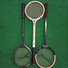 Vintage 1 Spalding, 2 Slazenger Squash Wood Wooden Racquet Racket