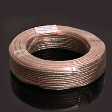 100ft 16 GA AWG Full Gauge Parallel Speaker Wire Cable OFC Oxygen Free Copper