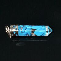 36 MM Long Orgone orgonite Turquoise Healing Pendant Set Aura crystal Metaphysic