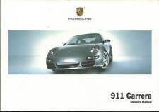 PORSCHE 911 CARRERA Driver´s Manual 2006  Typ 997 handbook BA
