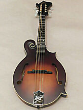 The Loar Lm-310F-BRB Honey Creek Solid Hand-Carved Spruce Top F Style Mandolin