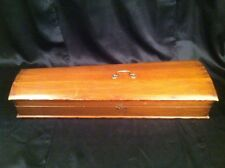 Antique Wooden Coffin Style Violin Case # I 847