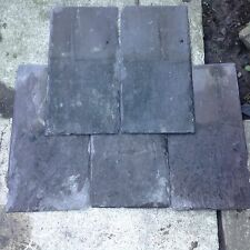 Reclaimed Welsh roof slates tiles roofing materials