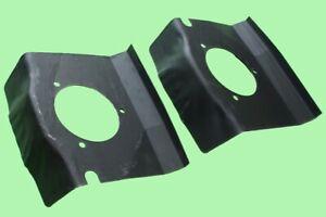 Ford Capri strut top reinforcement repair panels pair RH and LH Q066