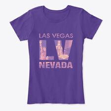 Las Vegas Nevada Usa Lv Sepia Women's Premium Tee T-Shirt