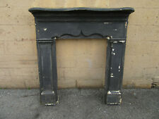 ~ Simple Antique Pine Fireplace Mantle ~ 46.5 X 48.5 ~ Architectural Salvage