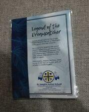 Dreamcatcher Keychain And Pen Set Lakota Sioux Brown Green Brand New