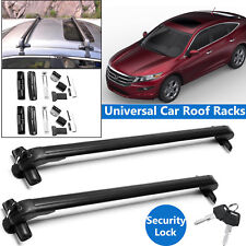 For Honda Crosstour Hatchback 4-Door 43'' Car Roof Rack Cross Bar Lockable 2Pcs