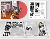 JEFF GROUP BECK - LIVE ON AIR 1967 (LIM,RED 180 GR,LP)   VINYL LP NEW+