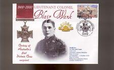 Australian Anzac Victoria Cross 100th Anniv Cov, Lt Col Blair Wark