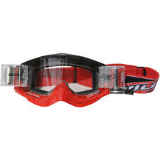 Wulf adulte mx Motorcross COULEUR racerpack ROULEMENT LUNETTES ROUGE TAILLE