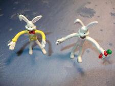 Biegefiguren Hasen - Osterhase - 80er Jahre - für 50mm Kapseln - 500 Stück