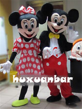【SALE】Mickey and Minnie Mouse Adult Mascot Costume Party Clothing Fancy Dress A+