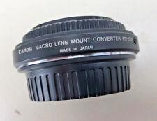 Canon Macro Lens Mount Converter FD-EOS -- OEM