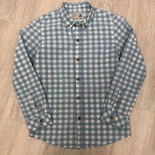 ZARA Kids Gingham Button Down Shirt size 7