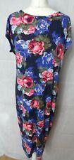 ORIGINALS FLORAL PRINT DRESS SIZE UK 18 Rose Pattern