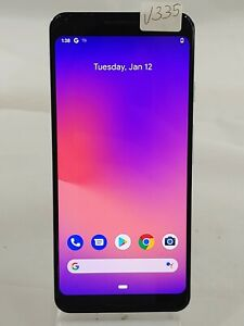 "Google Pixel 3 G013A 64GB AT&T GSM Unlocked 5.5"" Android Smartphone White V335"