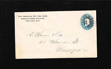 American Pet Dog Club New York City Canine Breeds PSE Franklin c1895 Cover «