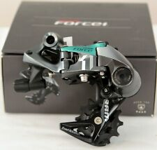 NEW SRAM Force 1 11 Speed Short Cage Rear Derailleur - Gray/Teal